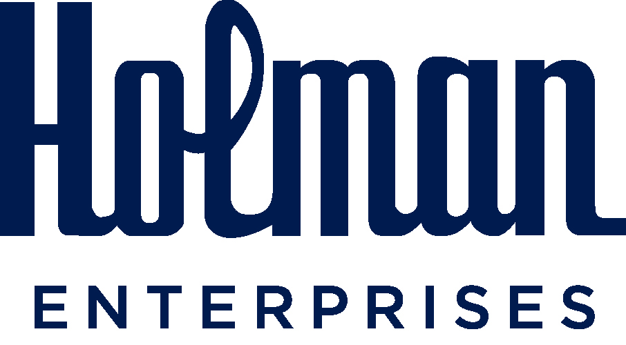 Holman Enterprises Navy Logo